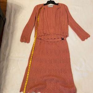 St. John by Marie Gray 2 piece skirt set